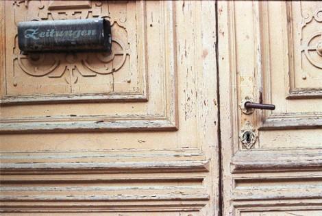goerlitz haustuer vintage door