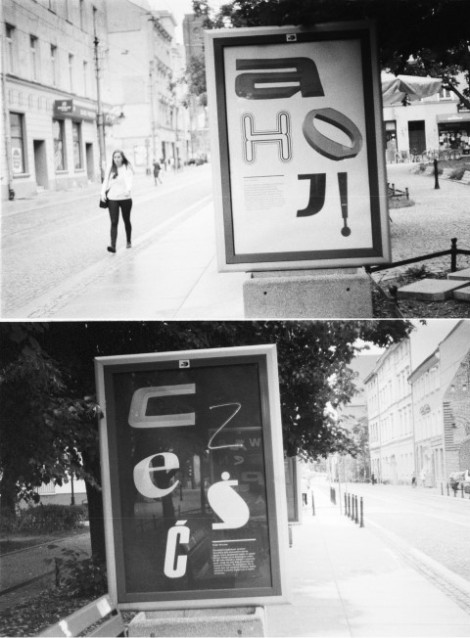czezc ahoj poster wroclaw breslau plakat