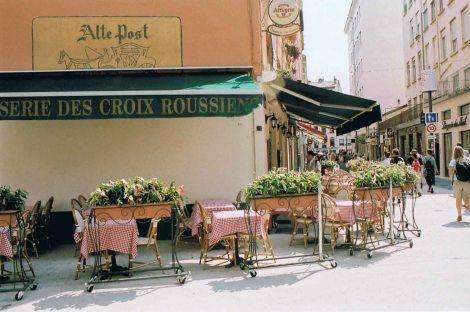 Lyon Alte Post Brasserie des Croix Roussiens